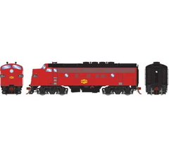 Athearn #G12425 F3A Phase II w/DCC & Sound MKT/Freight #205A