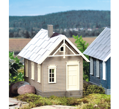 PIKO #62707 Hills Gingerbread House Built Up