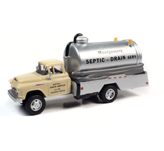 Classic Metal Works #30604 1957 Chevy Septic Tank Truck (Montgomery Drain Service)