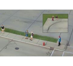Walthers #933-3187 Concrete Curbs & Sidewalks Kit