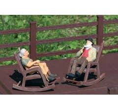 PIKO #62295 Rocking Chairs (2pcs)