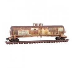 Micro Trains #11044530 Tank Car - Ferromex/ex-NdeM weathered