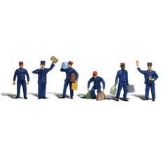 Woodland Scenics A2131 Train Personnel 6 Figures