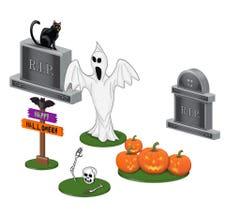Lionel #1930080 Halloween Lawn Figure Pack
