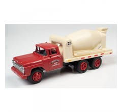 Classic Metal Works #30615 1960 FORD CEMENT/CONCRETE HD TRUCK (MORSE SAND & GRAVEL)