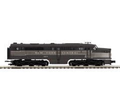 MTH #20-21247-1 Alco PA A Unit Diesel Engine w/Proto-Sound 3.0 (Hi-Rail Wheels) - New York Central #4204
