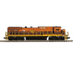 MTH #20-21288-1 Dash-8 Narrow Nose Diesel Engine With Proto-Sound 3.0 (Hi-Rail Wheels) - Providence & Worcester #4053