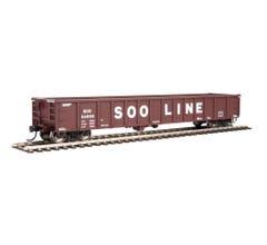 Walthers #910-6230 53' Railgon Gondola - Soo Line #68488