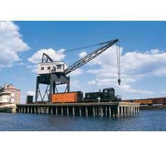 Walthers #933-3067 Pier & Traveling Crane Kit