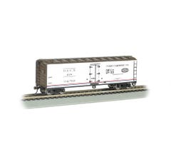 Bachmann #19855 40' Wood-Side Reefer - Pure Carbonic Co