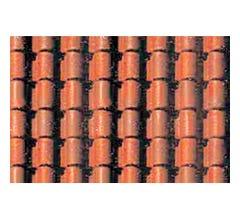 JTT #97434 Pattern Sheets, Spanish Tile, HO-scale 2 pk