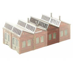 PIKO #62007 Engine shed extension