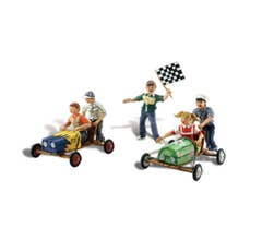 Woodland Scenics A1952 Figures - Downhill Derby