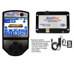 Ring Engineering #RPK-1 RailPro Starter Kit with Wireless Color Touchscreen Handheld Controller and Power Supply