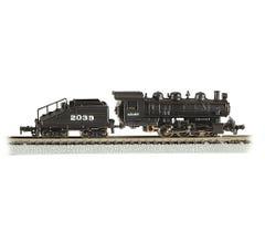 Bachmann #50566 USRA 0-6-0 Switcher w/Slope-Back Tender (Standard DC) - ATSF #2039