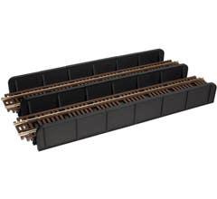 Atlas #881 Code 100 Through Plate Girder Bridge - Double Track - Kit