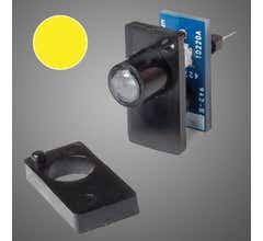 Walthers #942-155 Single Color LED Fascia Indicator Yellow