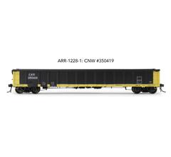 "Arrowhead Models HO ARR-1228-1 CNW #350419 Greenville 2494 ""Railgon"" Gondola"