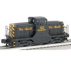 Williams #23104 GE 44 Ton Switcher - Denver & Rio Grande Western