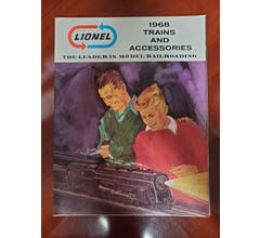 Lionel 1968C1 1968 Train & Accessories Catalog