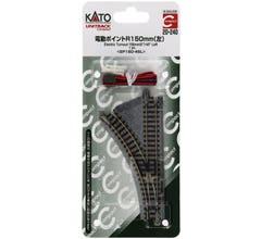 Kato #20-240 Compact Turnout R150-45 - Unitrack Left Hand