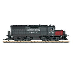 LGB #25558 Southern Pacific SD40 Diesel Locomotive w/Sound, Light Weathering-Toy Fair