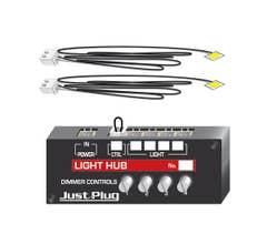 Woodland Scenics #JP5700 Just Plug Lights & Hub Set
