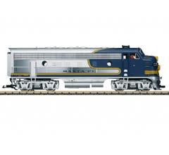 LGB #20585 Santa Fe F7A Diesel Locomotive w DCC/Sound