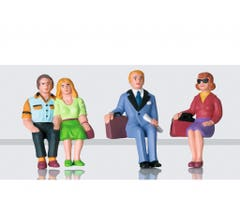 LGB #53006 Set of Figures- Travelers Sitting