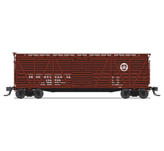 Broadway Limited #5886 PRR Stock Car Cattle Sounds