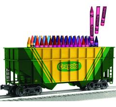 Lionel #3-17703 2-Bay Crayola Hopper