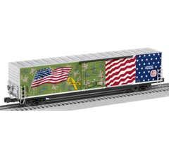 Lionel #2026340 Kansas City Southern - LED Flag 60' Boxcar