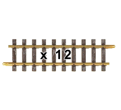 PIKO 35201C G-G280 Straight Track, 280mm (10.96in) (12)
