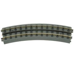 MTH 40-1042 RealTrax - O-42 Curved Track Section