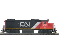 MTH #85-2040-1 GP38-2 Diesel With Proto-Sound 3.0 - Canadian National #4715