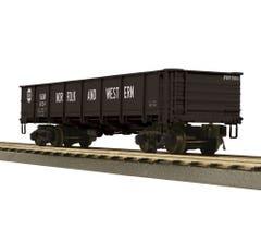 MTH #20-95482 55-Ton All Steel Drop-Bottom Gondola - Norfolk & Western