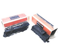 Lionel #LIO226E-5 226E Engine (226 Box) 2226W Tender Used Steam Engine And Tender