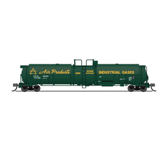 Broadway Limited #3823 Cryogenic Tank Car Air Products 2-pack