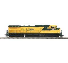 MTH #80-2293-0 Chicago North Western Dash-9 Diesel Engine (DCC Ready)