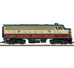 LGB #20580 Napa Valley EMD F7 A Unit Diesel Locomotive