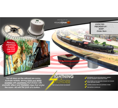 Broadway Limited #1598 Lightning & Thunder Accessory for Any-Scale Layout