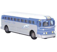 MTH #30-50117 Greyhound Die-Cast Bus - Greyhound (Oklahoma City)