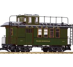 PIKO #38623 Wood Drover's Caboose - ATSF