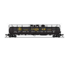 Broadway Limited #3825 Cryogenic Tank Car Canadian Liquid Air Co 2-pack