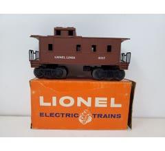 Lionel #LIO6017Box Lionel Lines Caboose With Box