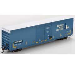 Athearn #87177 HO RTR FMC 60' DD Hi-Cube Box SSW/Ex-GWS #62630