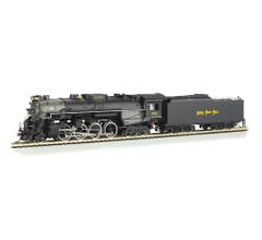 Bachmann #52404 Nickel Plate 2-8-4 Berkshire with DCC Sound Value
