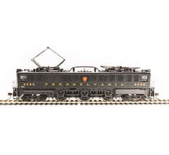 Broadway Limited #5937 PRR P5a Boxcab #4756 Freight Type DGLE Buff Yellow Roman Lettering (Round) Paragon3 Sound/DC/DCC