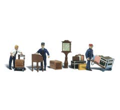 Woodland Scenics A2211 Depot Workers & Accessories