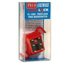 Peco #PL1005 TwistLock Turnout Micro Switch only